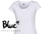 Blue Sportswear Gracia Tee Wit_