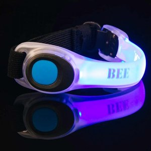 Bee Seen Led Safety Band Blauw
