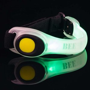 Bee Seen Led Safety Band Groen