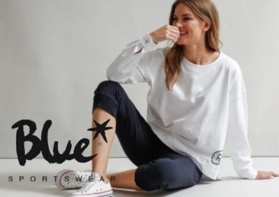 Blue Sportswear Arica Blouse Wit