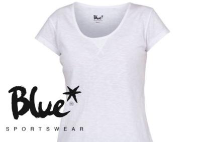 Blue Sportswear Gracia Tee Wit